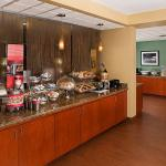 Breakfast bar area at the Hampton Inn Naples Central