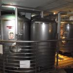 Old Harbor Brewery Fermentation tanks