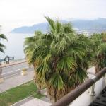 View of Amalfi Coast from our Balcony