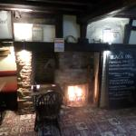 A real fire at the Black Pig, Barnsole