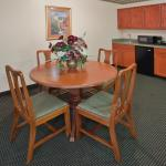 Kitchenette and Dining Area in the Presidential Suite