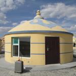 パオ風の宿泊施設