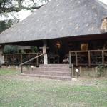 The dining verandah