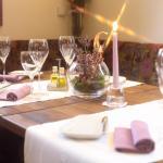 """Restaurant Lavendel Im Hotel """"Goldenes Lamm"""""""