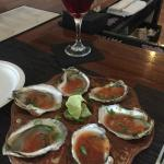 Manhattan with oysters