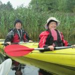 Kayaking the River Corrib in Galway, County Galway, Irealnd