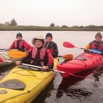 Kayaking with Kayakmor on the River Corrib in Galway, Ireland