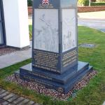 Memorial to the animals who contributed to the war effort.