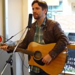 Tim Lee performs during the annual Words and Music Festival
