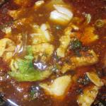 Fish in chilly sauce