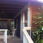 Ingreso a un bungalow