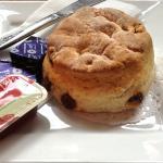 A plain scone
