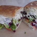 Filled sandwich from Biggar Flavour