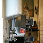 The all-important coffee machine!