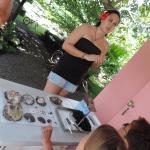 Morgane (Perle dÓ) nous a beaucoup aprit sur la culture des perles avec grace