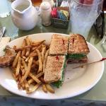 Another great sandwich with roast beef