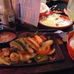 Chicken & Shrimp Fajita, Margarita