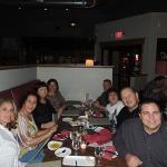 Family dinner at Rossettis.