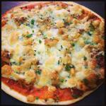 Pizza de atun en manteca