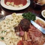 Calabrese Platter and Manicotti