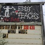 Sign for Eddy Teach's