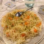 Insalatina di mare con carotine e pistacchi