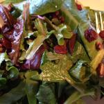 Pecan cranberry Salad with Balsamic dressing