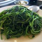 Sauteed Watercress in Garlic