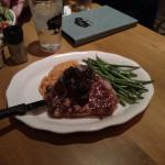 Porterhouse Pork Chop with Greens