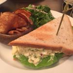 Truffled egg salad sandwich