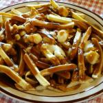 The traditional poutine.