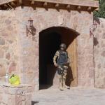 вход в монастырь охраняется