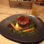 lamb pie and mash