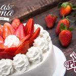 Pastel de Fresas con Crema - Patsy