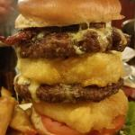 The Wheatsheaf burger.