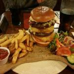 The Wheatsheaf burger.