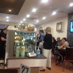 At Cafe ninety dour