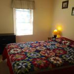 Bedroom area in cabin 3