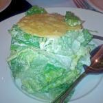 Caesar Salad; interesting presentation