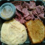 Corned beef and cabbage at Dublin Bay, Ames