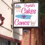 Bild från Crystal's Cakes and Cones