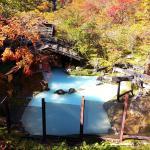泡の湯旅館・野天風呂