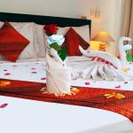 Set up room special honeymoon package