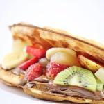 Waffles, Baked potatoes, Frozen Yogurt & Nachos