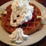 special of the day: waffle