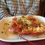 Fab lobster spaghetti