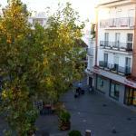 Blick von Zimmer 203 auf den Plaza Cavana