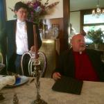 Proprietor Jim and Pastor Mike