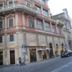 Front of Hiberia Hotel, Rome, Italy