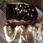 Yummy chocolate cake!